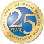 ISB Global Services 25th Anniversary Badge